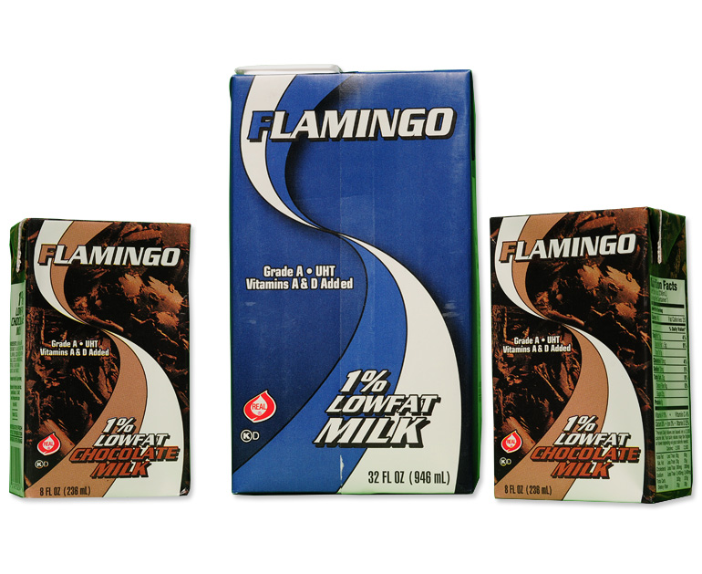 Milk Boxes - Flamingo Food & Beverage